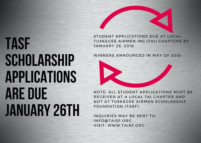 Tasf application reminder 2